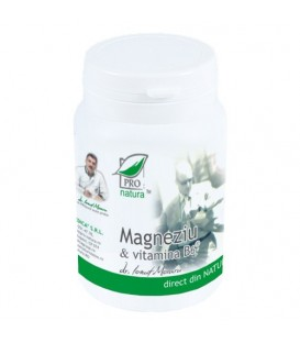 Magneziu & Vitamina B6, 60 tablete