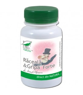 Raceala & Gripa Forte, 60 capsule