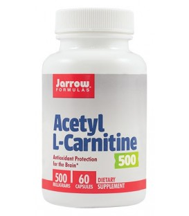 Acetyl L-Carnitine 500 mg, 60 capsule