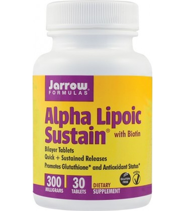 Alpha Lipoic Sustain 300 mg, 30 tablete