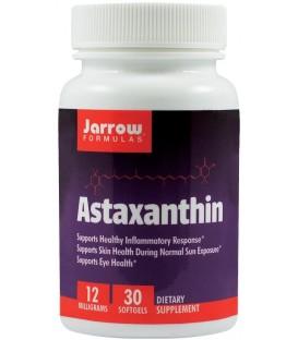 Astaxanthin 12 mg, 30 capsule