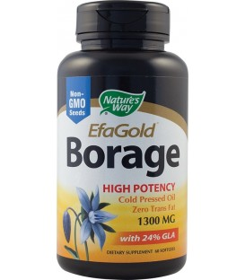 Borage Efagold 1300 mg, 60 capsule