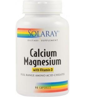 Calcium Magnesium With Vitamin D, 90 capsule