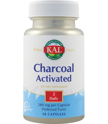 Charcoal Activated, 50 capsule
