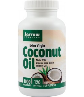 Coconut Oil Extra Virgin 1000 mg, 120 capsule