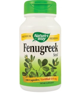 Fenugreek (schinduf) 610 mg, 100 capsule