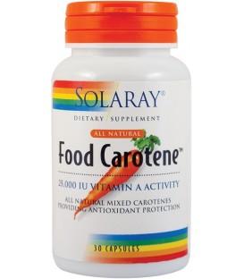 Food Carotene 25000 UI, 30 capsule
