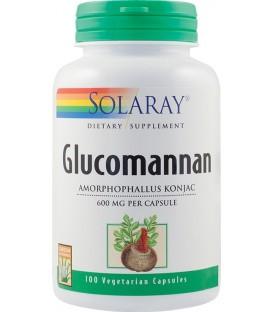 Glucomannan 600 mg, 100 capsule