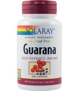 Guarana 200 mg, 60 capsule
