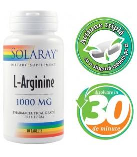 L-Arginine, 30 tablete