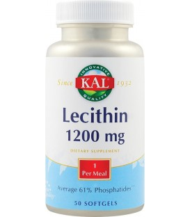 Lecithin 1200 mg, 50 capsule