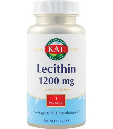 Lecithin 1200 mg, 50 capsule