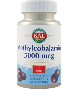 Methylcobalamin 5000 mcg, 60 tablete