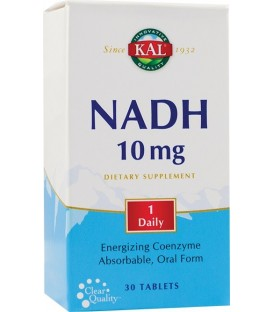 NADH 10 mg, 30 tablete