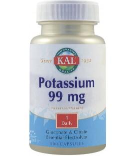 Potassium 99 mg, 100 capsule