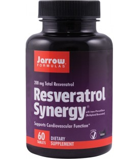 Resveratrol Synergy 200, 60 tablete