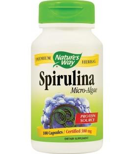Spirulina Micro−Algae, 100 capsule