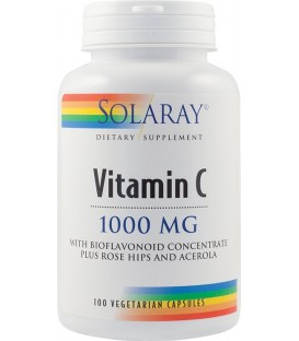Vitamin C 1000 mg (adulti), 100 capsule