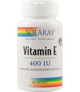 Vitamin E 400 UI, 50 capsule