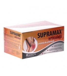 Supramax articulatii cu aroma de piersica, 30 doze