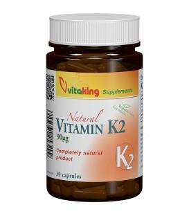 Vitamina K2 90 mcg, 30 capsule