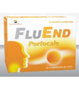 FluEnd portocale, 20 capsule