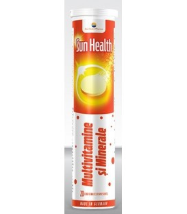 Multivitamine si minerale - Sun Health, 20 tablete