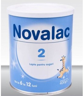 Lapte praf Novalac 2, 400 grame