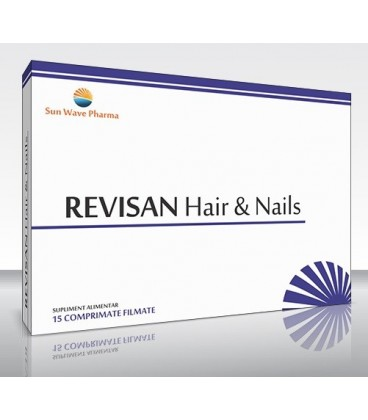 Revisan Hair & Nails, 15 tablete