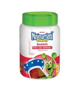 Minimartieni Gummy Boneactive, 60 bucati
