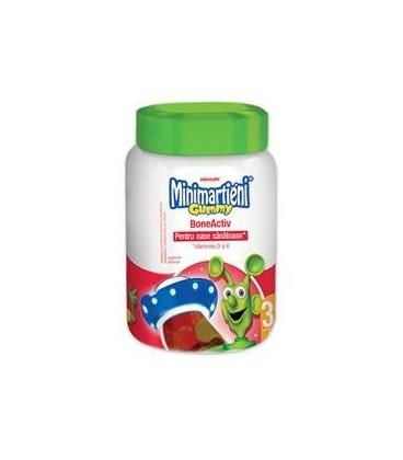 Minimartieni Gummy Boneactive, 60 buc