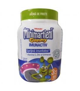 Minimartieni Gummy cu echinacea, 60 bucati
