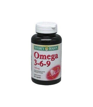Natures Bounty Omega 3 6 9, 30 capsule