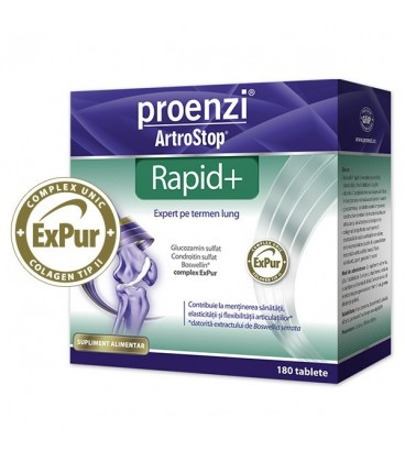 Proenzi Artrostop Rapid+, 180 comprimate