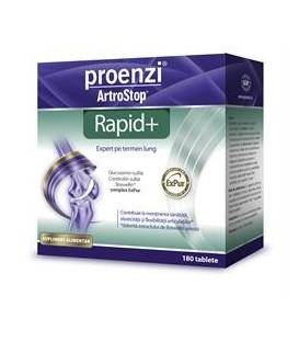 Proenzi Artrostop Rapid+, 180 comprimate + Proenzi Crema, 100 ml (promotie)