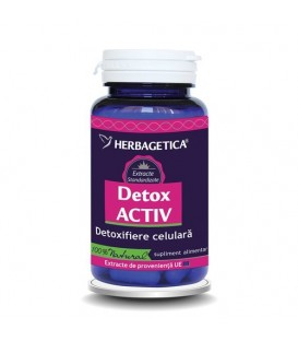 Detox Activ, 60 capsule