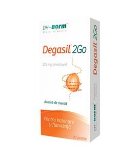 Degasil 2GO, 20 comprimate