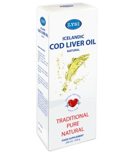 Ulei din ficat de cod natural, 240 ml