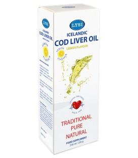 Ulei din ficat de cod cu aroma lamaie, 240 ml