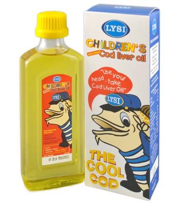 Ulei din ficat de cod pentru copii, 240 ml