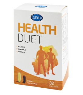 Health Duet, 32 capsule+Multivitamine & Minerale, 32 comprimate