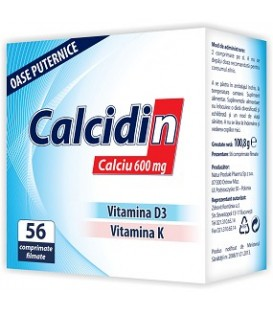 Calcidin, 56 tablete
