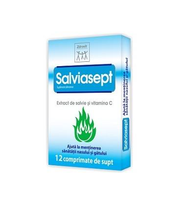 Salviasept, 12 comprimate
