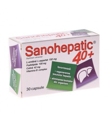 Sanohepatic, 40 + 30 capsule