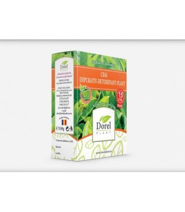 Ceai Depurativ Detoxifiliant-Plant, 150 grame