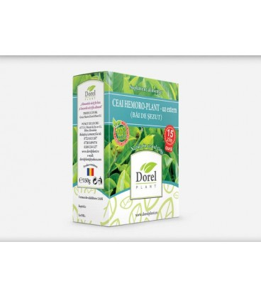 Ceai Hemoro-Plant (Bai de sezut), 150 grame