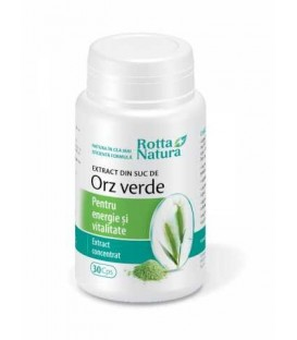Extract din orz verde, 30 capsule