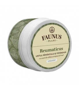Unguent Reumaticus, 50 ml (Untul Pamantului & Tataneasa)