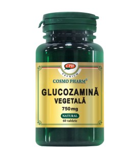 Glucozamina Vegetala 750 mg, 60 tablete