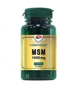 Premium MSM 1000 mg, 30 comprimate